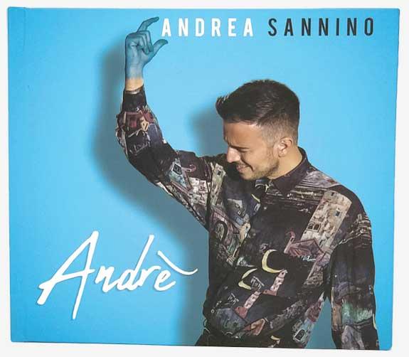 """SGV Print Solution Srls: Digipack copertina e custodia per CD e DVD – album """"Andrè"""" di Andrea Sannino"""