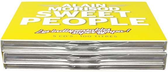 "SGV Print Solution Srls: Digipack copertina e custodia per CD e DVD – album ""Sweet People"" di Alain Morisod"