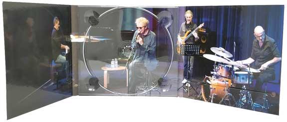 """SGV Print Solution Srls: Digipack copertina e custodia per CD e DVD – album """"Gigi"""" di Fabio Concato, Paolo Di Sabatino Trio"""