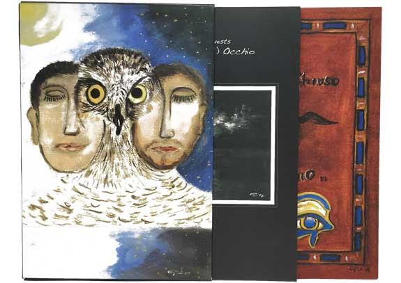 """SGV Print Solution Srls: Special Edition copertina e custodia per CD e DVD – album """"Mai Chiuso (1) Occhio"""" di Twa'N'Guests"""